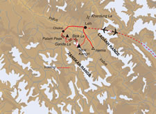 Stog Kangri Expediton 2 - Map